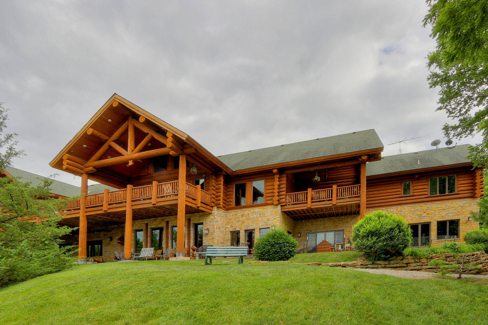 Country Log Homes Photos Galleries Portfolio