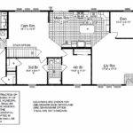 Country Ranch House Floor Plan Foundation