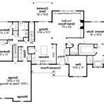 Country Ranch House Plans Floor Car