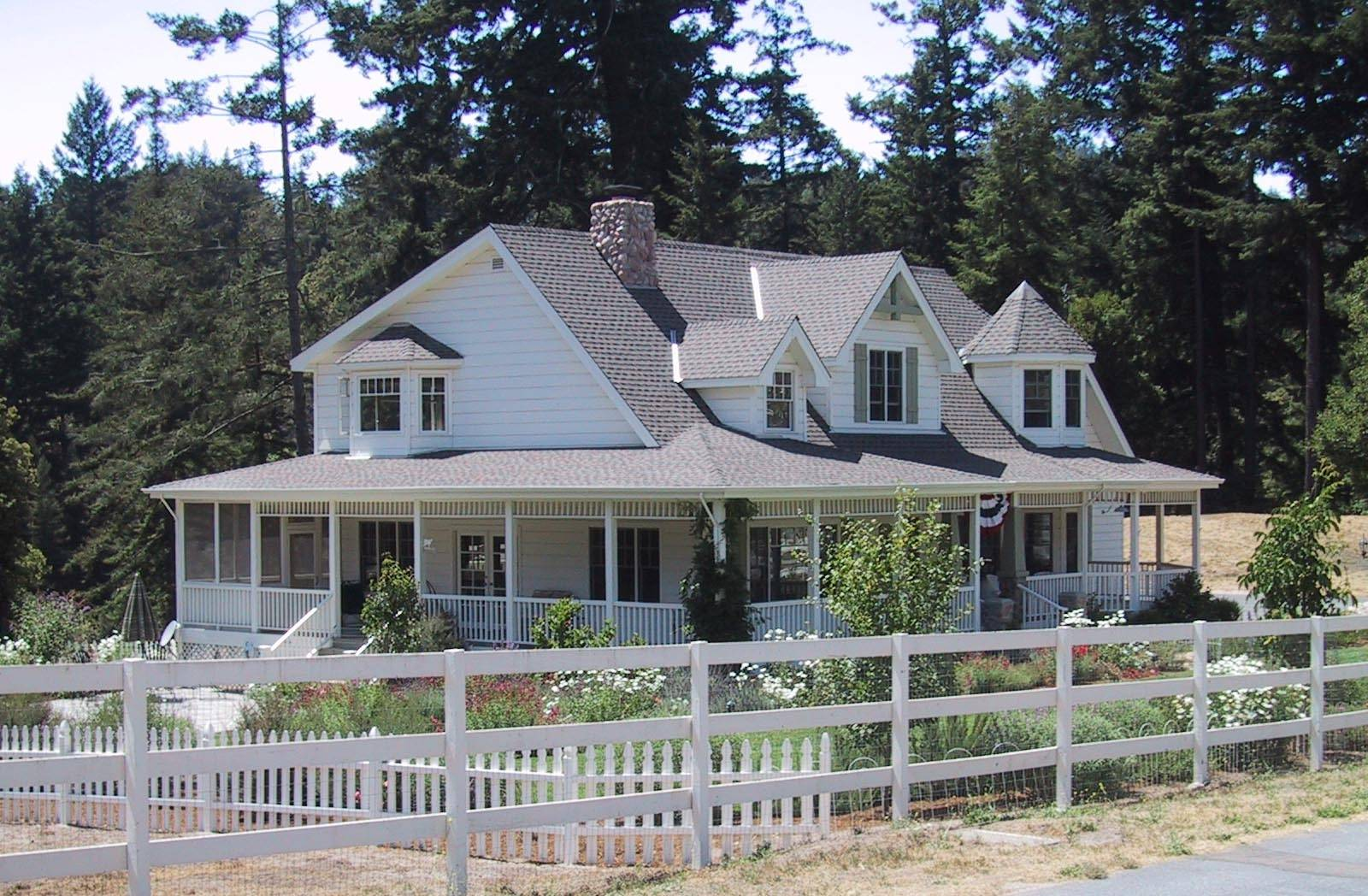 Country Ranch House Plans Wrap Around Porch