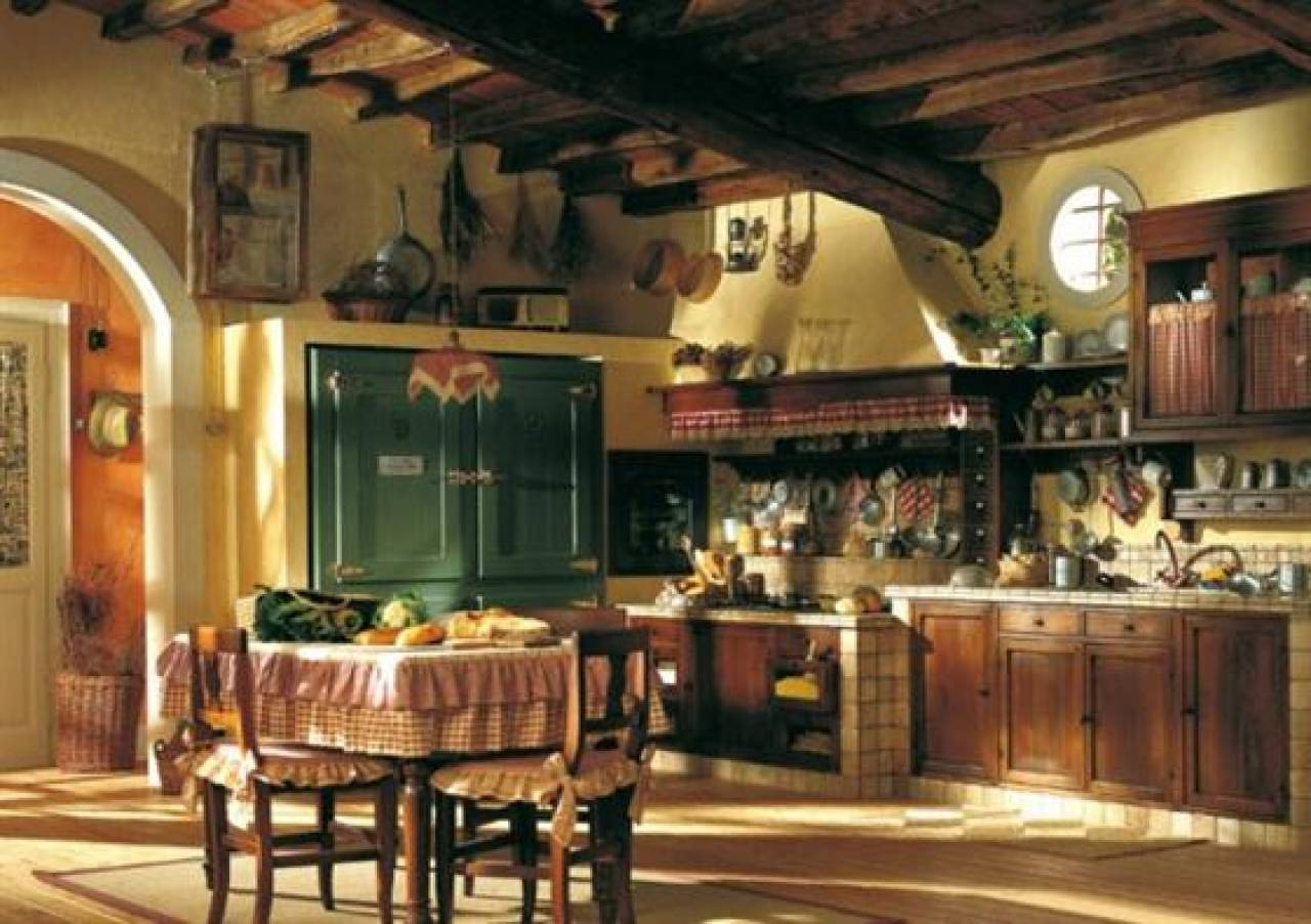 Country Style Kitchen Design Ideas Old Home Interior