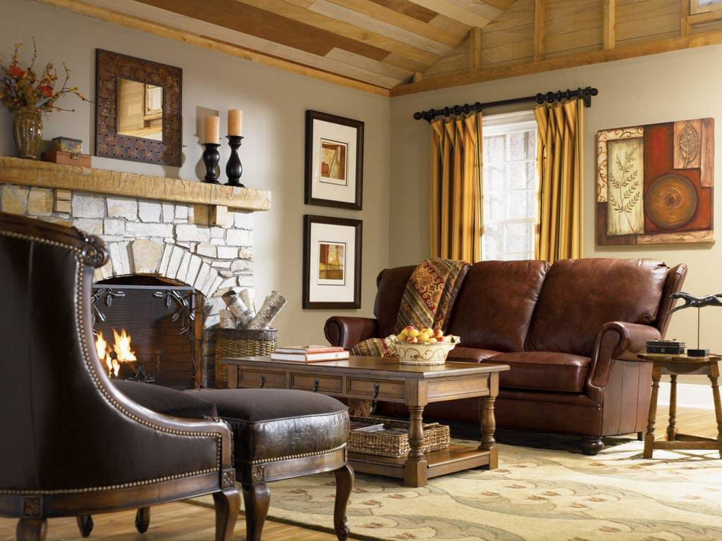 Country Style Living Room Interior Design Ideas Homes