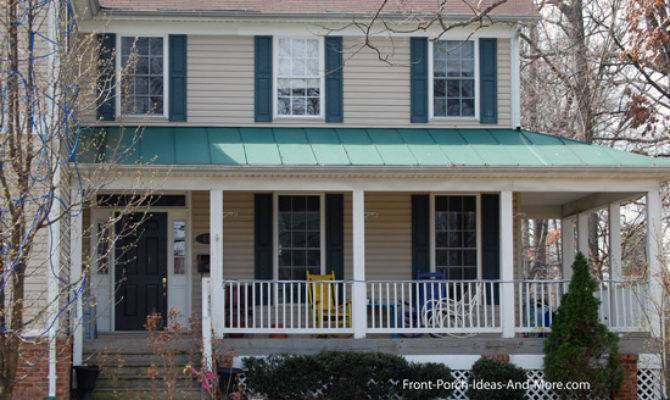 Country Style Porches Wrap Around Porch Ideas