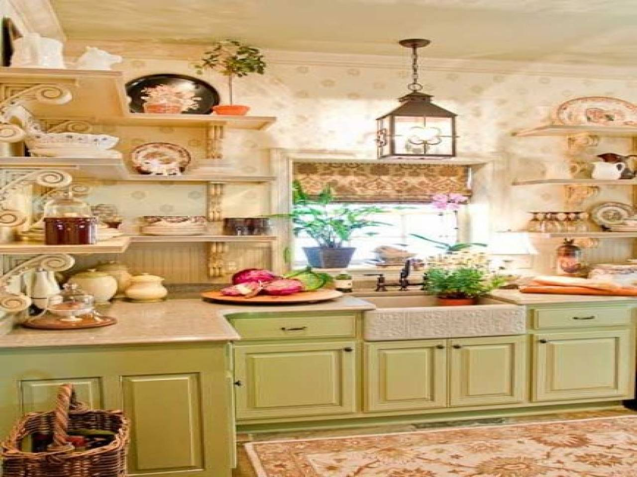 Country Themed Bedroom Ideas Cute Cottage Style Kitchen