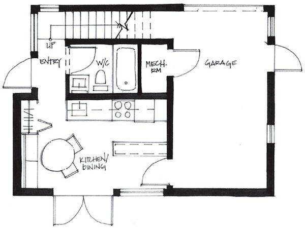 Couple Living Square Foot Small House Smallworks