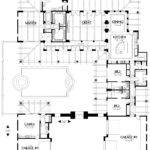 Courtyard Home Plan Houses Plans Designs