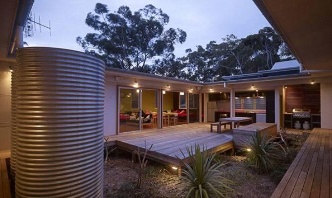 Courtyard House Plans Idyllic Interior