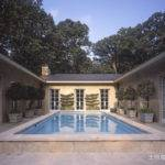 Courtyard House Plans Pool Likewise Shaped