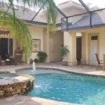 Courtyard Pool Homes