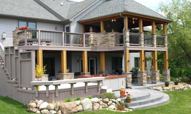 Covered Deck Designs Bing