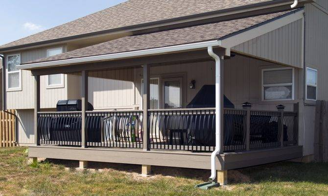 Covered Porch Deck Designs