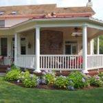 Covered Porch Ideas Backyard Landscaping Gardening