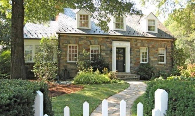 Cozy Stone Cottage House Plans Exteriors Pinterest