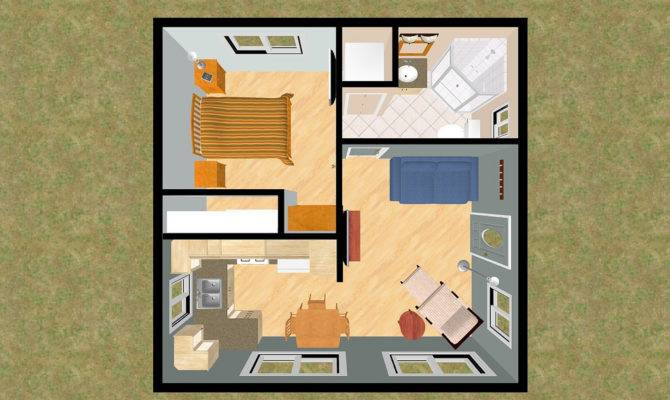 Cozyhomeplans Small House Floor Plan Concept Flickr