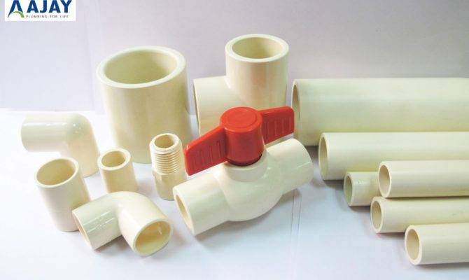 Cpvc Pvc Upvc Plastic Pipes Fittings India