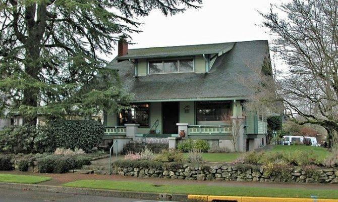 Craftsman Bungalow Home Homes Pinterest