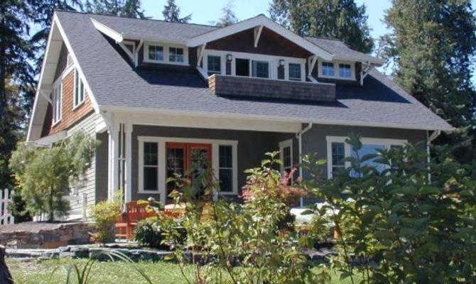 Craftsman Bungalow House Plans Porches