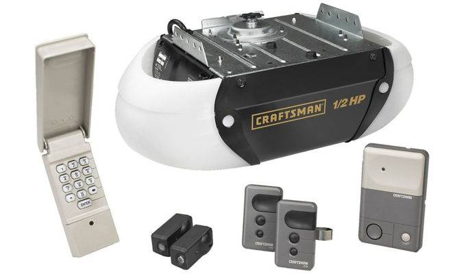 Craftsman Chain Drive Garage Door Opener Remote