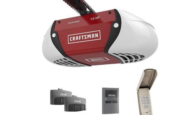 Craftsman Chain Garage Door Opener Remotes