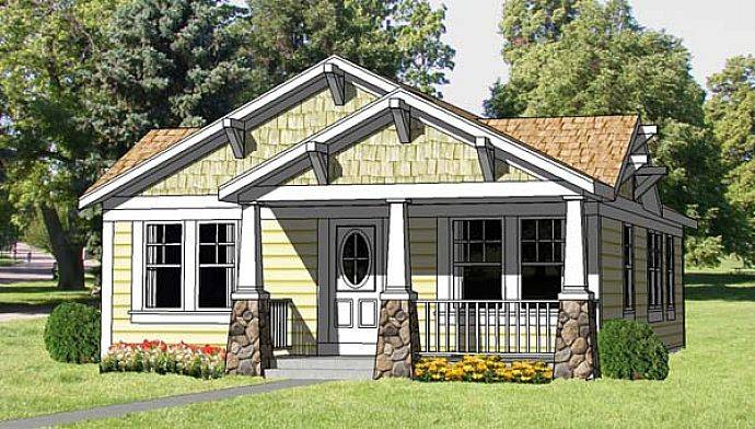 Craftsman Design Bungalow House Plans Home Decoration Improvement