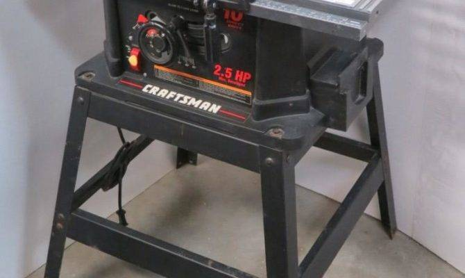 Craftsman Direct Drive Table Saw