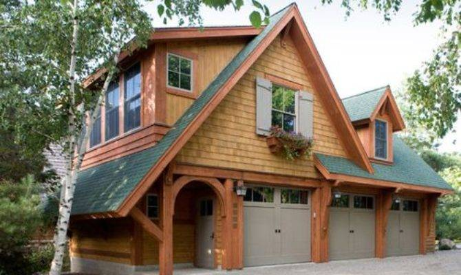 Craftsman Garage Shed Design Ideas Remodel