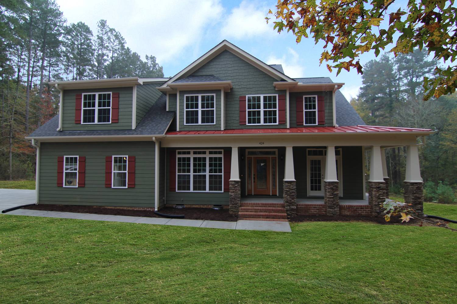 Craftsman Home Design Chapel Hill Homes Stanton