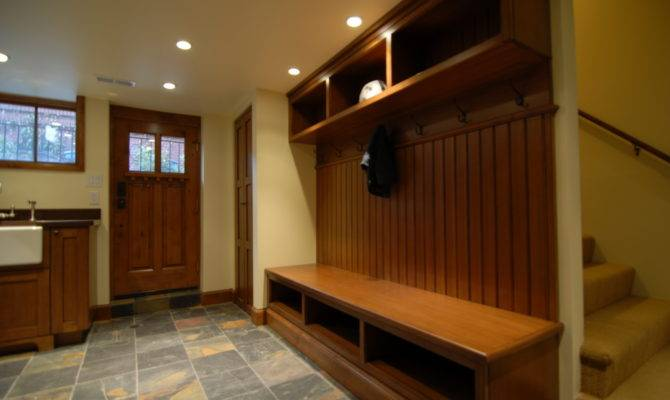 Craftsman Home Laundry Built Ins Asid
