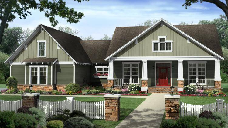 Craftsman Home Plans Popular Modern Designs