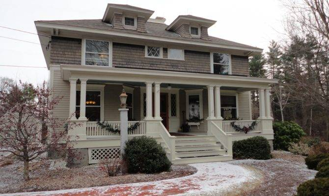 Craftsman Homes Our Amherst Foursquare Brin Realty