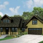 Craftsman House Plan Alexandria Front Elevation