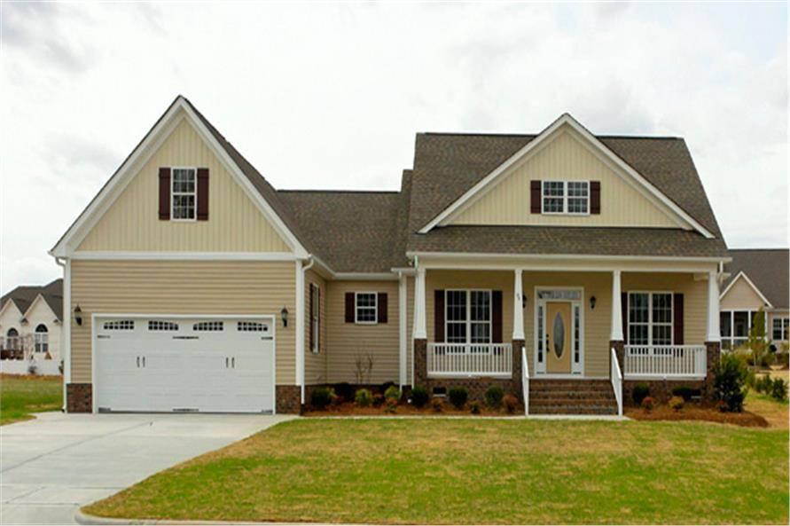 Craftsman House Plan Bedrm Home