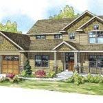 Craftsman House Plan Belknap Front Elevation