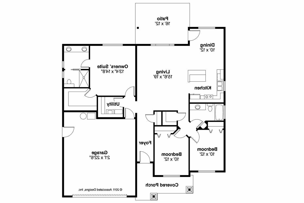 Craftsman House Plan Camas Floor