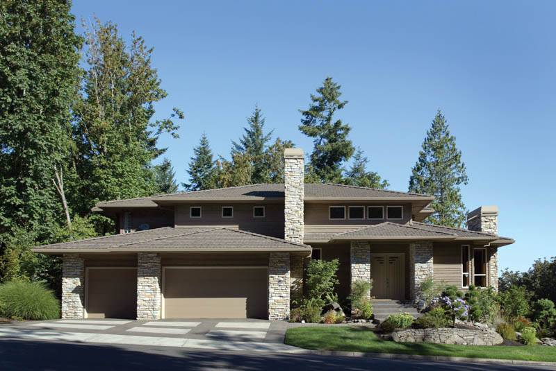 Craftsman House Plan Front Plans More