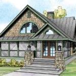 Craftsman House Plan Glen Eden Front Elevation