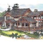 Craftsman House Plan Stratford Front Elevation