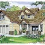 Craftsman House Plan Sturnbridge Front Elevation