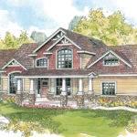 Craftsman House Plan Tillamook Front Elevation