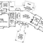 Craftsman House Plan Woodcliffe Floor