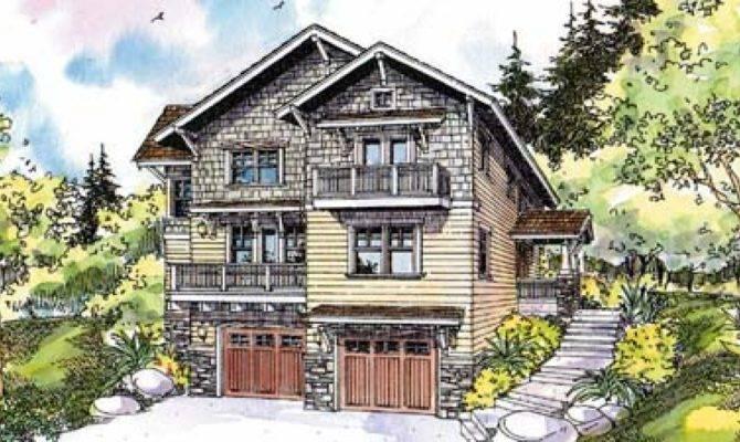 Craftsman House Plans Basement
