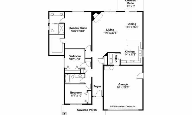 Craftsman House Plans Logan Associated Designs