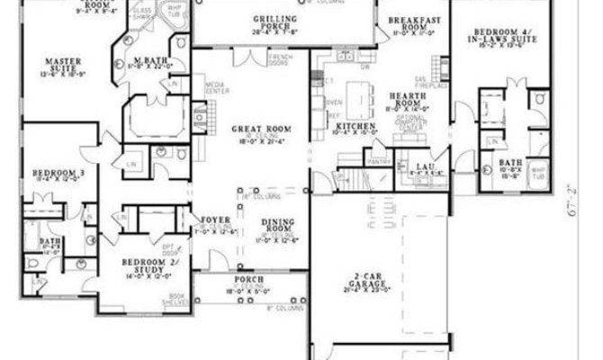 Craftsman House Plans Mother Law Suite Awesome Why