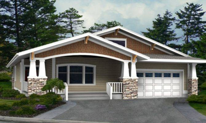 Craftsman House Plans One Level Homes Best