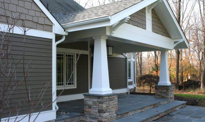 Craftsman Porch Column Styles