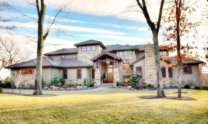 Craftsman Prairie Style Homes Home Design