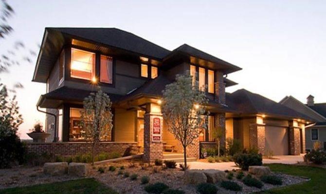 Craftsman Prairie Style House Plans