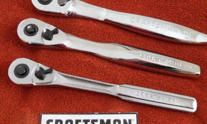 Craftsman Quick Release Ratchets