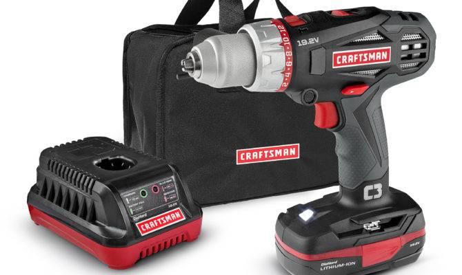 Craftsman Speed Hammer Drill Kit Shop