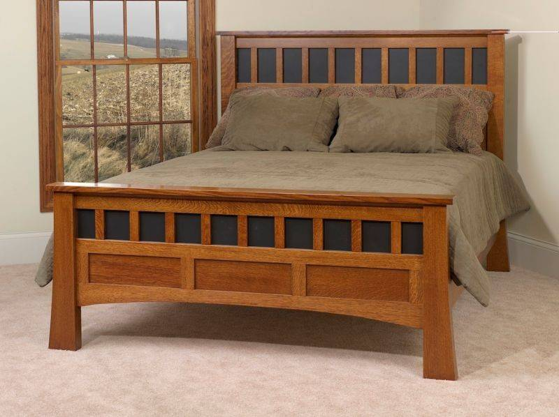 Craftsman Style Bedroom Sets Amish Bridgeport Antique